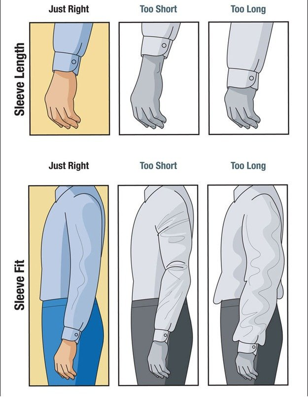 24 suit hacks that will make any salesman look sharp for Mens dress shirt sleeve length