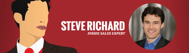 inside sales expert Steve Richard