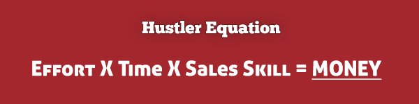hustler equation