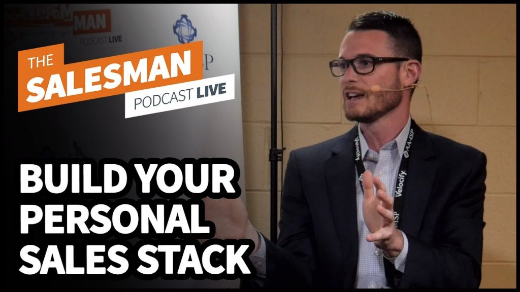 "Building Your Own Personal ""Sales Stack"" With Mark Kosoglow"