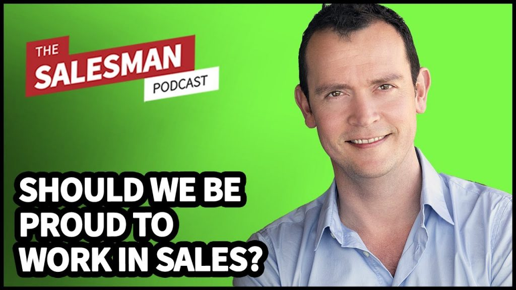 298: Should Salespeople Be Confident (Or Embarrassed) About Working In Sales? With Matthew Kimberley