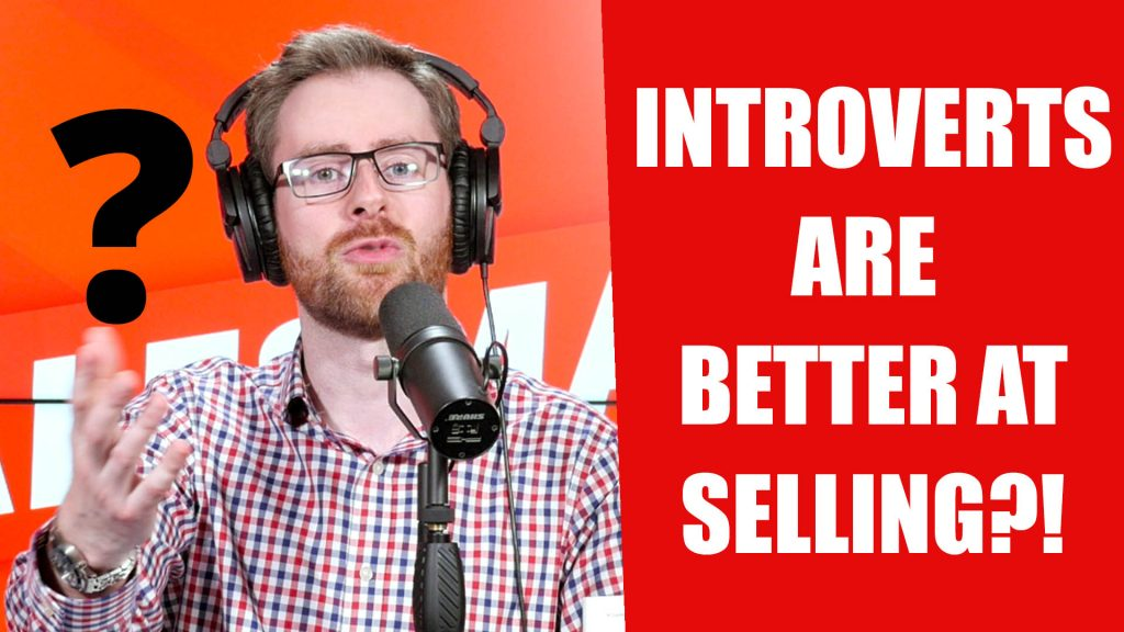 INTROVERTS Are Better Sales People?! With Matthew Pollard